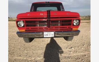 1972 Ford F100 2WD Regular Cab for sale 101125097