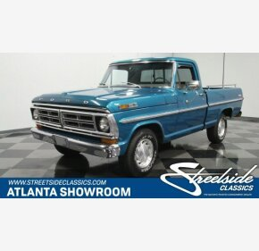 1972 Ford F100 for sale 101180007