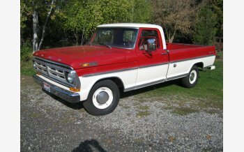 1972 Ford F100 2WD Regular Cab for sale 101237274