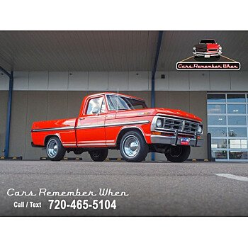1972 Ford F100 for sale 101339883