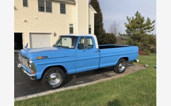 1972 Ford F100 2WD Regular Cab for sale 101380617