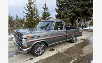 1972 Ford F100 2WD Regular Cab for sale 101460130