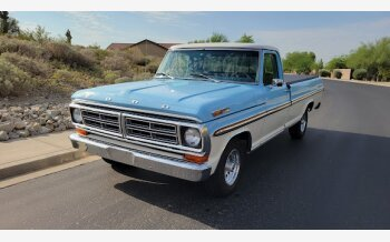1972 Ford F100 2WD Regular Cab for sale 101606828
