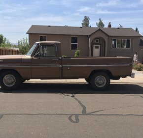 1972 Ford F250 2WD Regular Cab for sale 100983516
