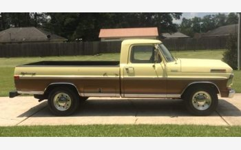 1972 Ford F250 2WD Regular Cab for sale 101214223