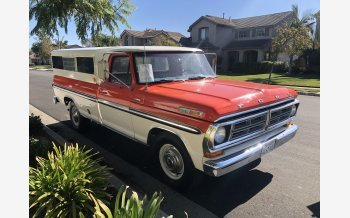 1972 Ford F250 Camper Special for sale 101235322