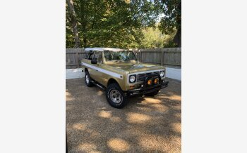 1972 International Harvester Scout for sale 101240714