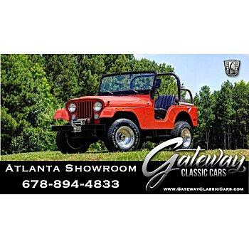 1972 Jeep CJ-5 for sale 101166703