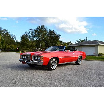 1972 Mercury Cougar for sale 101086611