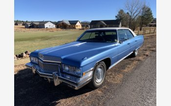 1973 Cadillac De Ville Sedan for sale 101399265