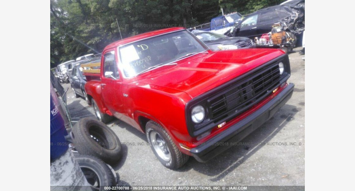 1973 Dodge D/W Truck for sale 101015327