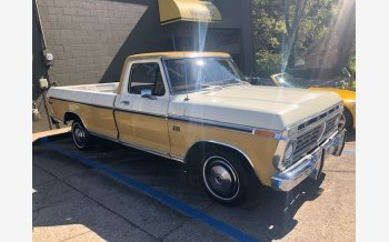 1973 Ford F100 2WD Regular Cab for sale 101576972