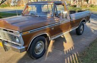 1973 Ford F250 Camper Special for sale 101450238