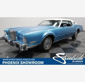 1973 Lincoln Continental for sale 101237713