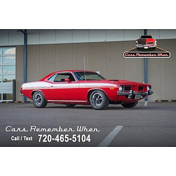 1973 Plymouth CUDA for sale 101362856