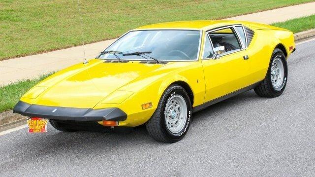1974 De Tomaso Pantera Classics For Sale Classics On Autotrader