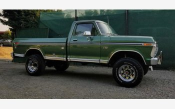 1974 Ford F250 4x4 Regular Cab for sale 101234418
