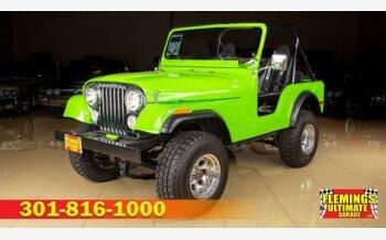 1974 Jeep CJ-5 for sale 101282960