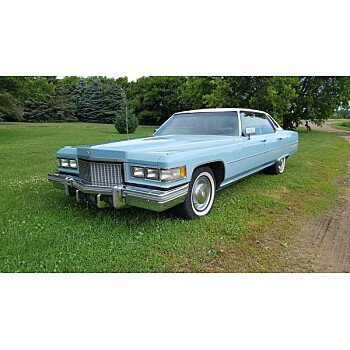 1975 Cadillac De Ville for sale 100880038