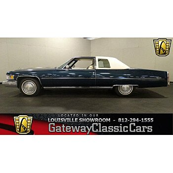 1975 Cadillac De Ville for sale 100986429