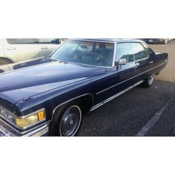 1975 Cadillac De Ville for sale 100829687