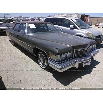 1975 Cadillac Fleetwood for sale 101015024
