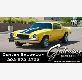 1975 Chevrolet Camaro Classics For Sale Classics On Autotrader