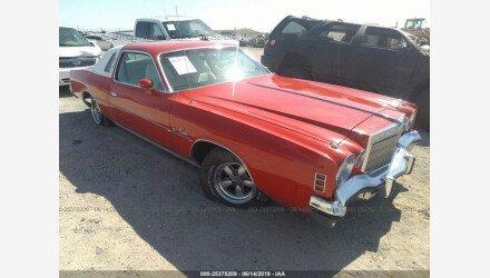1975 Chrysler Cordoba for sale 101158185