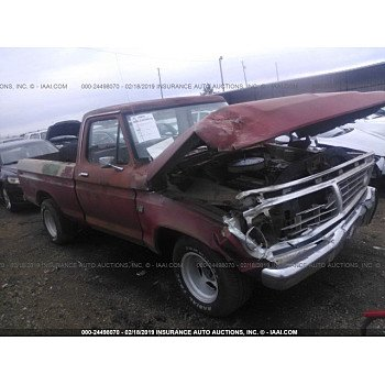 1975 Ford F100 for sale 101102206