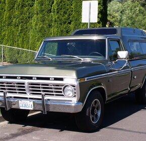 1975 Ford F150 2WD Regular Cab Lightning for sale 101290379