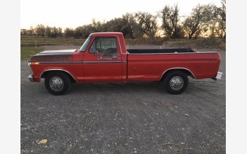 1975 Ford F150 2WD Regular Cab XL for sale 101477080