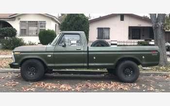 1975 Ford F250 2WD Regular Cab for sale 101267500