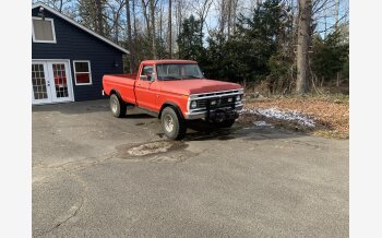 1975 Ford F250 4x4 Regular Cab for sale 101430043