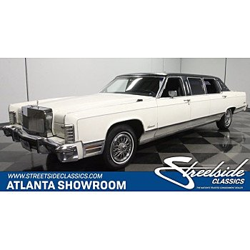 1975 Lincoln Continental for sale 101368286