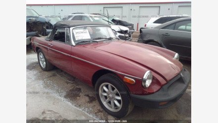 1975 MG MGB for sale 101428103