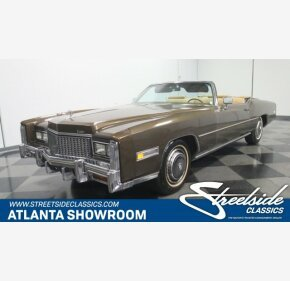1976 Cadillac Eldorado for sale 101008161