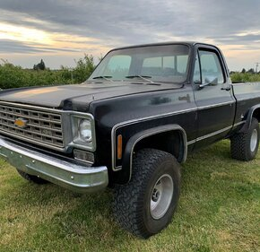 1976 Chevrolet C/K Truck 4x4 Regular Cab 1500 for sale 101385122