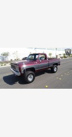 1976 Chevrolet C/K Truck Camper Special for sale 101372562