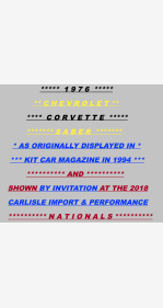 1976 Chevrolet Corvette for sale 101120234
