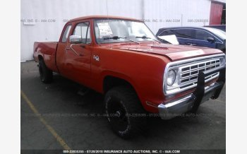 1976 Dodge D/W Truck for sale 101015338