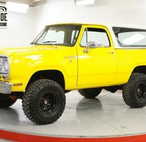 1976 Dodge Ramcharger for sale 101329998