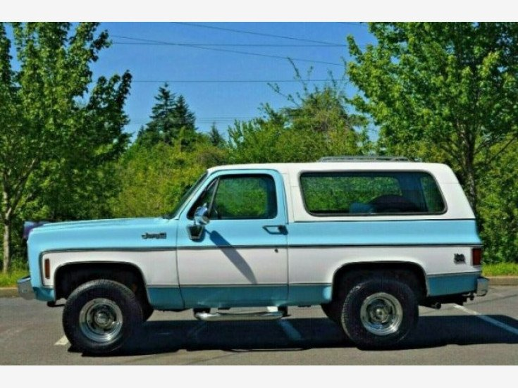 1976 Gmc Jimmy For Sale Near Cadillac Michigan 49601 Classics