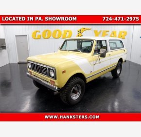 1976 International Harvester Scout for sale 101454257