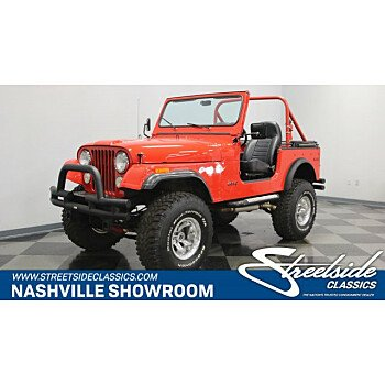 1976 Jeep CJ-7 for sale 101007361