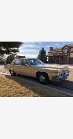 1977 Cadillac De Ville Sedan for sale 101411484