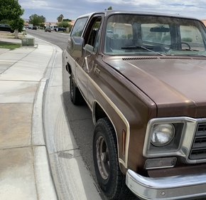 1977 Chevrolet Blazer 4WD 2-Door for sale 101166205
