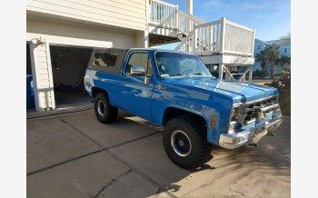 1977 Chevrolet Blazer 4WD 2-Door for sale 101260357
