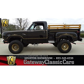 1977 Dodge D/W Truck for sale 101000400