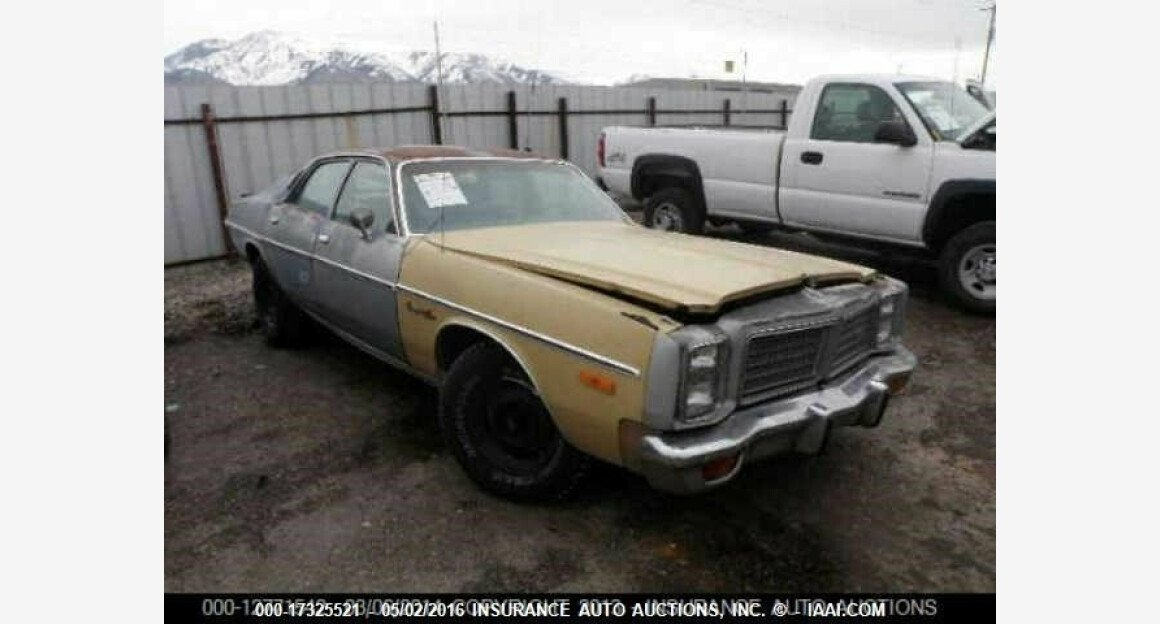 1977 Dodge Monaco for sale 101015322