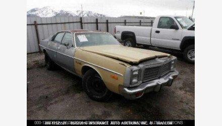 1977 Dodge Monaco for sale 101015322